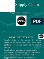 Dell's Supply Chain