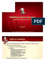 Building Future Success Survey Report (April '10)