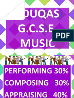 Introduction to Eduqas g.c.s.e. Music