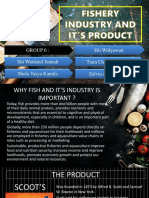 Fishery Industry and It's Product