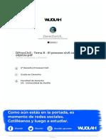 Wuolah-free-DProcCivil - Tema 8 - El Proceso Civil Con Pluralidad de Objetos