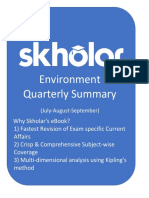 Environment Quarterly Summary eBook