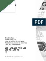 L55-75 Parts Manual