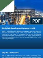 Blockchain Development Company in Dubai, UAE