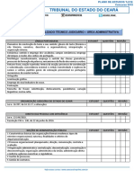 Edital Verticalizado Tj Ce Tecnico Judiciario Area Administrativa