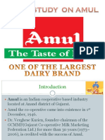 Case Study on Amul Moiz