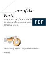 Structure of the Earth and Composition