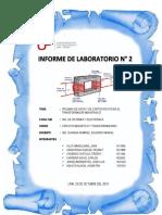 INFORME LABORATORIO N° 2 - CIRCUITO MAGNÉTICO Y TRANSFORMADORES