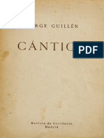Cantico - Jorge Guillen