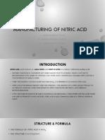 Manufacturing of Nitric Acid_1