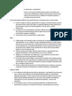 Proyecto de Ley Del Ingeniero Alimentario y Agroindustrial