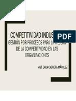 Sesión 7 - Gestión Por Procesos Para La Mejora de La Competitividad en Las Organizaciones
