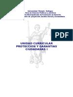 Proteccion y Garantias Ciudadana