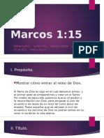 homiletica marcos 1.15