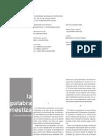 FINAL - LA PALABRA MESTIZA
