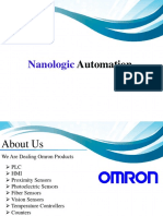 Industrial Automation Company in Bangalore | Omron  | NLA