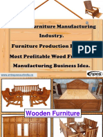 Wooden Furniture Manufacturing Industry. Furniture Production Factory. Most Profitable Wood Furniture Manufacturing Business Idea.-555400