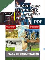 Fenomeno Urbano en El Mundo