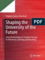 2018 Book ShapingTheUniversityOfTheFutur