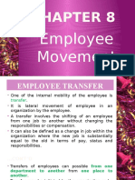 CH- 8 Employee Movement