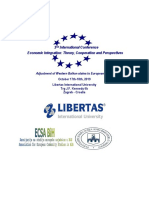 LIBERTAS, Zagreb 16-17.10.2019 Call for Papers Schedule 2019