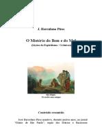 19 - Herculano Pires - O Mistério do Bem e do Mal.doc