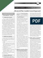 VERSION MODIFICADA DEL PLANCONTABLE EMPRESARIAL  APLICABLE