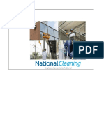 Tablero de Control National Cleaning
