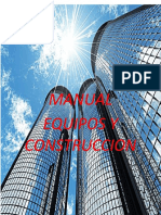 MANUAL de Equipos y Construccion