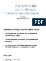 CCGL9061 - 3 - Challenges, Critiques and Ideologies
