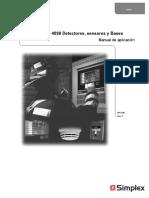 Simplex 4098 Detector Application Manual.en.Es