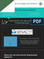 Instituciones Que Apoyan a Los Emprendedores
