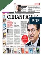Orhan Pamuk, Escritor Turco Es El Gran Invitado Del Hay Festival Arequipa 2019