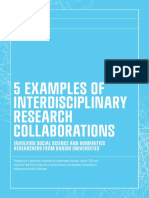 5 Examples of Interdisciplinary Research Collaborations en a4 r1