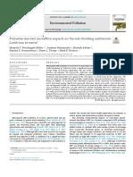 Impactos de Microfibra Derivados Del Poliéster en La Lombriz de Tierra Que Habita El Suelo Lumbricus Terrestris