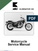 Eliminator 125 Service Manual