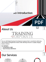 Training InCorporate - An Introduction 2019
