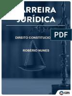 Direito cosntitucional aula 7 cers