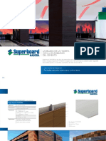 Superboard Madera Etex Colombia.