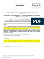 [1]1. Evolution of Minor Phases in a P91 Steel Normalized and Tempered