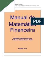 1 - Manual de Matemática Financeira - 2019