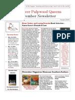 RRPQ November Newsletter