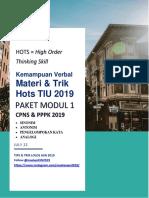 Modul 1 Hots TIU 2019 - Kemampuan Verbal.pdf