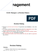 Ch 02. Decision Making