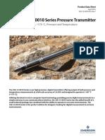 320 12 0010 Series Digital High Precision Pressure Temperature Transmitter en 80264