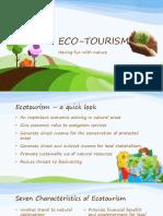Ecotourism 1stweek