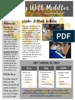 november newsletter- 7th grade