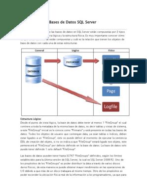 260027110 Arquitectura De Bases De Datos Sql Docx
