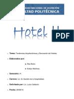 Tendencias en Arquitectura Hotelera