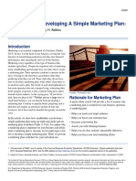 8 Steps to Developing a Simple Marketing Plan